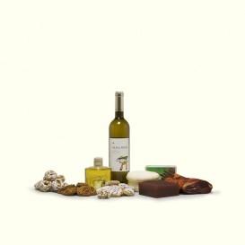 Dulce, salado, queso fresco, vino blanco, licor, pastas... recorrido de sabores originales.