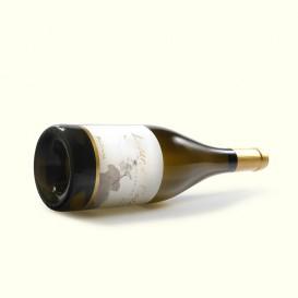 Botella de blanco albariño barrica Lagar de Costa, DO Rias Baixas