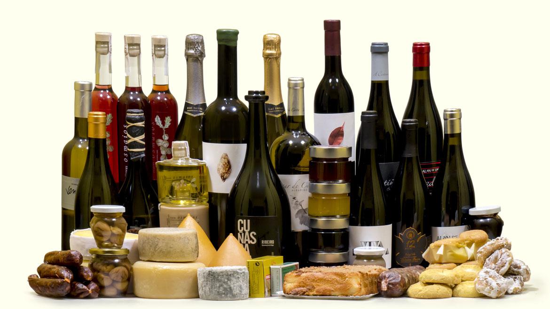 Esta es un pequeña muestra de los productos gourmet que se incluyen en nuestro catalogo de cestas de navidad para empresas del 2015