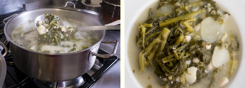 Receta caldo gallego tradicional: caldo gallego listo para servir. ¡Buen provecho!