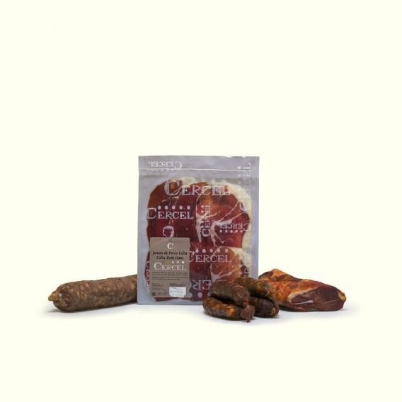 Los mejores embutidos de la despensa del labrador, chorizo,salchichón,lomo uy jamón elaborados de manera tradicional
