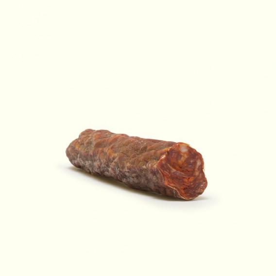 Chorizo de porco celta criado en libertad alimentado de landras y castañas de los soutos gallegos