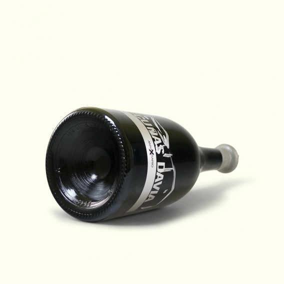 Botella Magnum (1,5) coupage de tintos Cuñas Davia (mencia, brancellao, caíño y sousón). DO Ribeiro