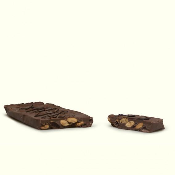 tableta de Turrón de chocolate con almendras
