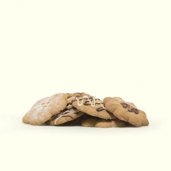 bolsita de pastas Cukiñas (100 gramos aprox.), receta original de la familia, elaboradas una a una en su obradoiro de Meis