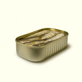lata de Sardinillas en aceite de oliva (125 gramos)