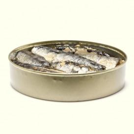 "lata de Sardinas en conserva ""Gran Reserva"" (170 gramos aprox.)"
