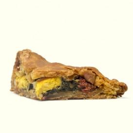 "Pieza de empanada artesana de ""Porco Celta"""