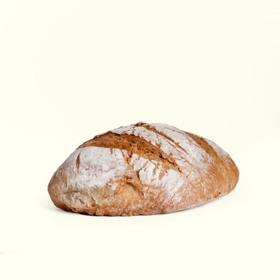 Bollo de pan de trigo gallego de 500gr.