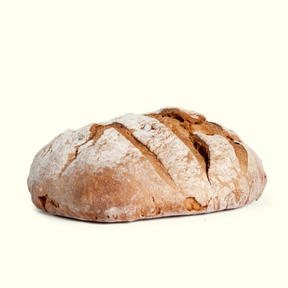 """Bollo de Pan de auténtico trigo gallego elaborado en horno de leña y utilizando """"masa madre"""""""