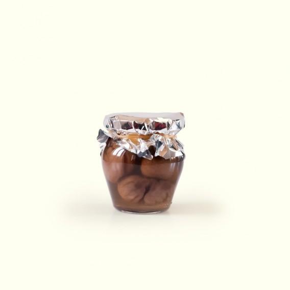 Si buscas las mejores castañas en almíbar, tienes que probar las de Verónica & Daniel: un auténtico tesoro por descubrir.